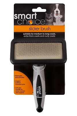 Crufts Dog Puppy Cat Pet Hair Shedding Grooming Trimmer Comb Brush Slicker Rake