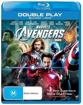 The Avengers (2012) (Marvel) (Blu-ray/DVD) [Region B] [Blu-ray] - DVD like new