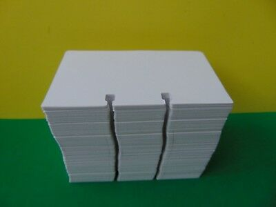 "500 Genuine Rolodex Rotary Refill Cards 3 x 5"" Made in USA New Snow White"