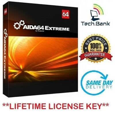Aida64 Extreme ⭐Lifetime License Key - Full Version⭐ Fast Delivery!⭐