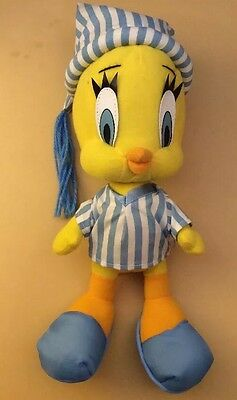 "14"" TWEETY BIRD Play By Play 1997 Looney Tune Plush Stuffed Animal ""A"""