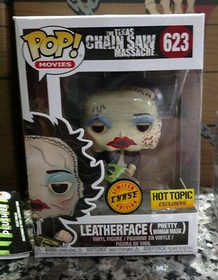 Funko Pop Hot Topic Exclusive Horror Mystery Box. Leatherface Chase.