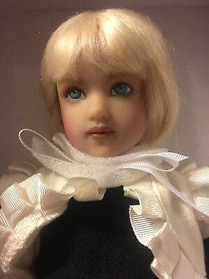 Piper Big Sis Hand painted By Helen Kish--NRFB— Beautiful Doll #2 Green Eyes