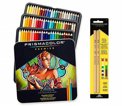 Prismacolor Premier Colored Pencils Soft Core 72 Count Worldwide Free Shipping