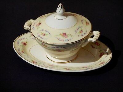 Vintage Edwin Knowles China Semi Vitreous Pattern #KNO213 1940's