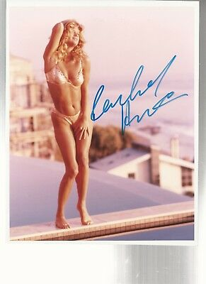 Vintage Rachel Hunter personally signed Publicity Photograph