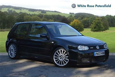 2003 Volkswagen Golf R32 3.2V6 240bhp 3 door MK4 Petrol black Manual