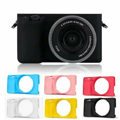 Silicone Soft Camera Cover Case Bag Protector Housing Skin For Sony A6000 【US】