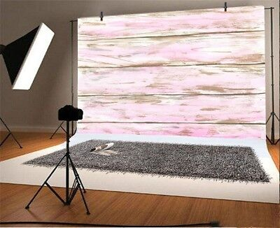 Retro Old Wood Plank Wall 3x2ft Photography Backgrounds Studio Photo Backdrops