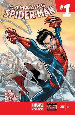 The Amazing Spider-Man #1 (June 2014, Marvel) NM