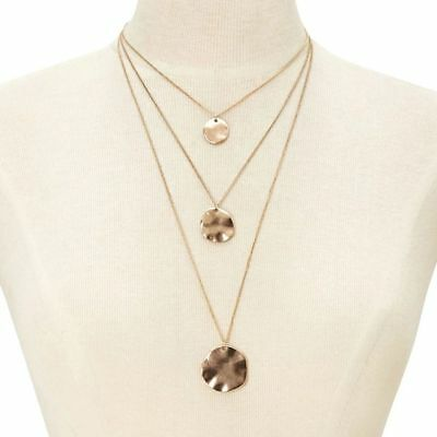 Coin Round For Women Pendants Jewelry Multi Layer Necklaces Choker Chain