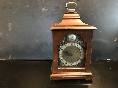 Bracket Clock With Superior Rotherham Of Coventry 8 Day Movement