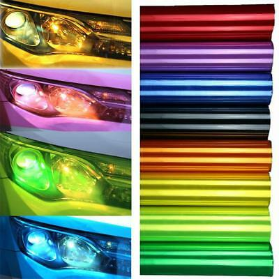 Chameleon Color Changing Tint Vinyl Wrap Sticker Headlight Film Car Lamp HY #O