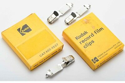 Stainless Steel Kodak film clips - 20x Record Film Clips - Brand New