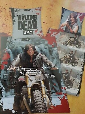 Bettwäsche The Walking Dead Bettwäsche Daryl Dixon Biker Exklusiv