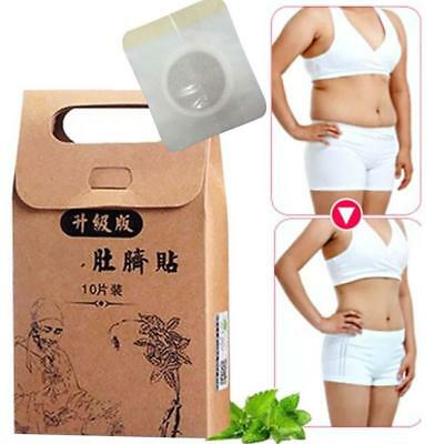 10x Navel Stick Slim Patch Sticker Magnetic Weight Loss Burning Fat Body Hot