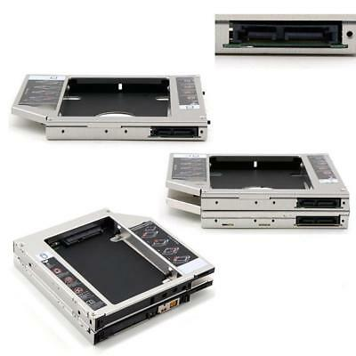 Hot 127 mm 2nd SATA SSD HDD Hard Drive Caddy for DVD-ROM CD Optical Cosp Hot