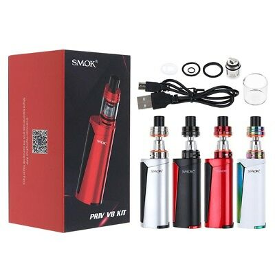 SMOK PRIV V8 STARTER FULL KIT 60W with 3ML TFV8 BABY BEAST TANK COIL