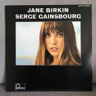 "LP ""Jane Birkin & Serge Gainsbourg"" Fontana 2001, Chanson Pop, Je T'aime, NM-"