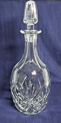 Royal Brierley Crystal Glass Decanter. Sherry,Wine, Whisky.