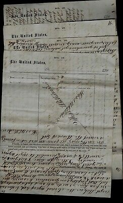 51st Ohio Infantry (OVI) CIVIL WAR LETTER from Murfreesboro, Tennessee AWESOME!