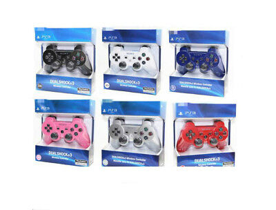 Playstation 3 PS3 Original Packed Dualshock 3 Wireless Controller 7 Color