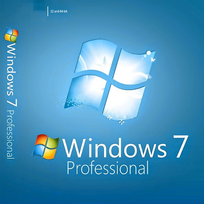 Windows 7 Professional 32/64 Win 7 Pro Worldwide Activation Key Download Link
