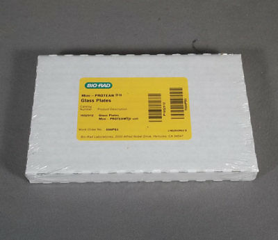 Pkg-10 Sets Bio Rad Mini Protean 2 Cell Inner and Outer Glass Plates
