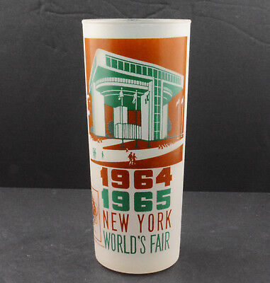 New York World's Fair 1964/1965 Frosted Glass Port Authority Building (6 1/2)