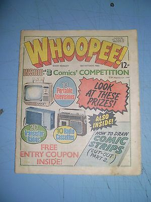 Whoopee issue dated October 18 1980
