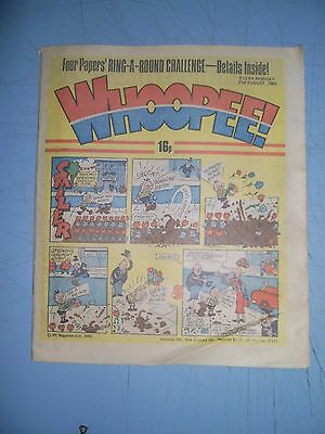 Whoopee issue dated August 21 1982