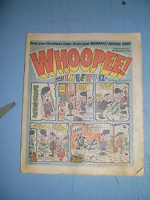 Whoopee issue dated December 6 1980