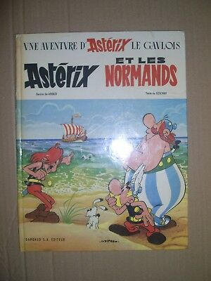 Asterix et les Normands 1966 Dargaud hardback french language first edition