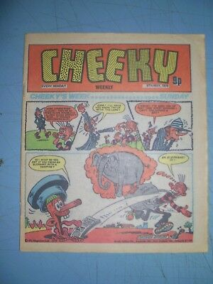 Cheeky issue dated May 5 1979