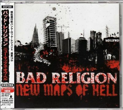 Bad Religion / New Maps Of Hell Japan Cd Oop W/Obi +2B/T