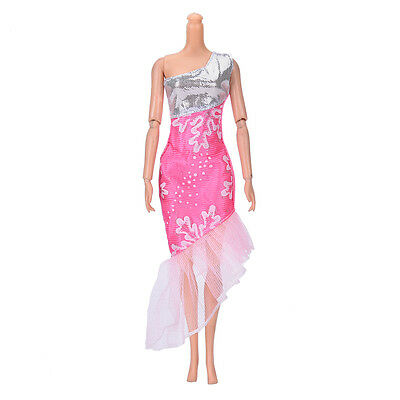 """Fashion Beautiful Handmade Party Clothes Dress for 9""""  Doll Mini Best R KK"""