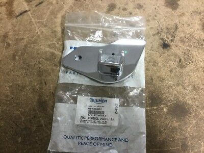 Triumph America & Speedmaster EFI Chrome Front Left Foot Control Plate NEW