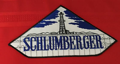 Schlumberger oil field jacket size patch 5 X 9-5/8