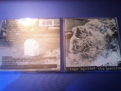 RAGE AGAINST THE MACHINE RATM - CD ALBUM LP - killing in the name of bombtrack
