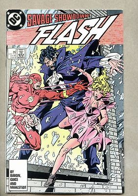 Flash #2-1987 vf Vandal Savage Wally West 1st Magneta