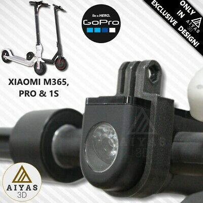 SOPORTE SUPORT GOPRO / ACTION CAMERA - Xiaomi M365 & PRO High Quality 3D Printed
