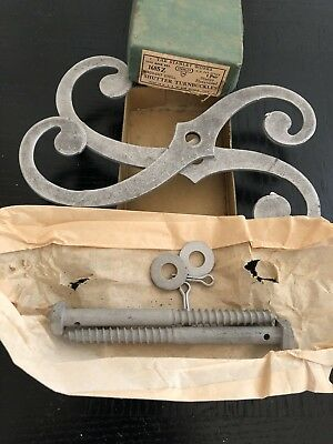 Pairs In Box NOS 1930s Stanley Sweetheart SW Shutter Dogs Latches Turnbuckles