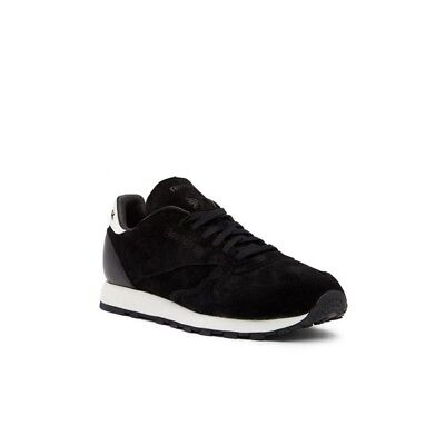 7f3973d6f95 REEBOK CLASSIC LEATHER Sg (BLACK CHALK) Men s Shoes BS7578 -  49.99 ...