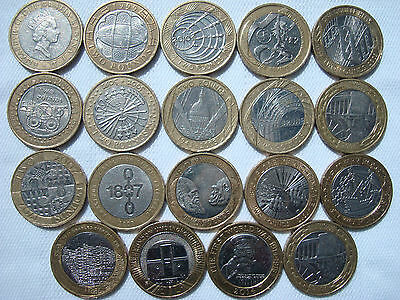 £2 Pound Coins- Commemorative Two Pound Coins UK Royal Mint coin