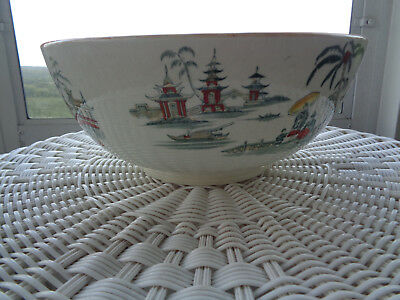 Petrus Regout Maastricht Holland Large Serving Bowl ~ HONC ~ Made in Holland!