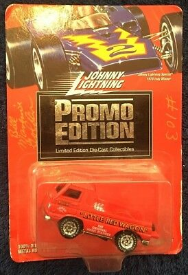 LITTLE RED WAGON   2004 JOHNNY LIGHTNING LIMITED ANNIVERSARY EDITION  1:64 SCALE