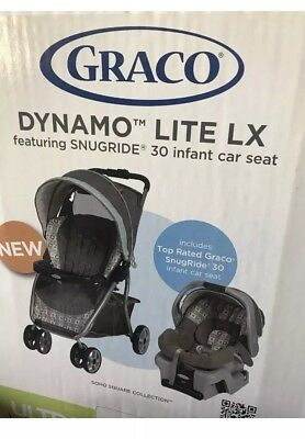 Pickup Only Graco Dynamo Lite Lx SnugRide 30 Infant Car Seat Stroller Travel