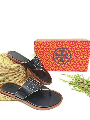 b3b00f9ef BRAND NEW TORY BURCH JAMIE THONG NEW IN THE BOX SIZE 6.5 Sandal Leather Shoe