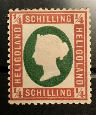 Scott # 7 1873 MHROG VF Good Center Very Fresh Clean Stamp Queen Victoria X1/22