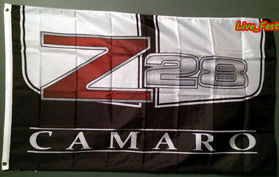 Z 28 CAMARO FLAG BANNER 3X5 SS z/28 z28 chevy racing muscle car garage sign